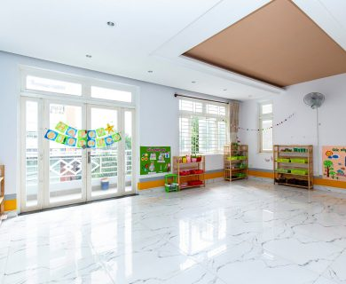 trường mầm non song ngữ Montessori
